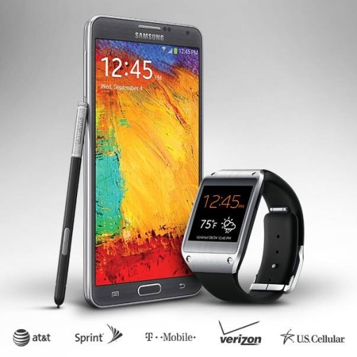 Samsung Galaxy Note 3 + Galaxy Gear