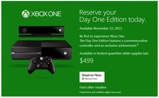 Xbox One_pre-order